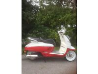 As New - Stunning Retro Style Scooter