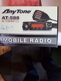 Anytone at 588 4meter transceiver