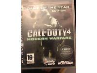 Call of Duty 4 + set