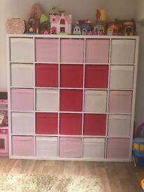 Ikea kallax 25 storage unit