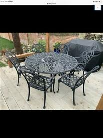 Nova garden table and 6 chairs