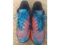 Adidas predictor 8.5 8 1/2 football AstroTurf boots