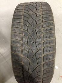 225/45-17 Dunlop Tyre Good Tread 5.5mm