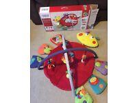 Mamas & Papas Light & Sound Lottty Luxury Playmat & gym - £35
