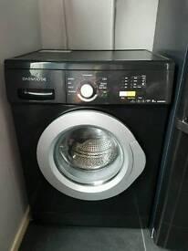 Daewoo 6kg washing machine Black