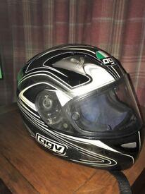 AGV motor bike helmet