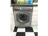 Hotpoint silver washing machine £75.00