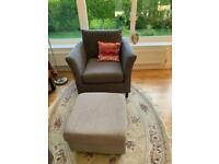 Sofa and armchair for sale (separate also possible)