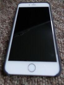APPLE Iphone 6 plus 16GB silver/white pristine condition