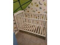 White cot toys r us adjustable height