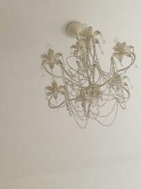 Ivory chandelier