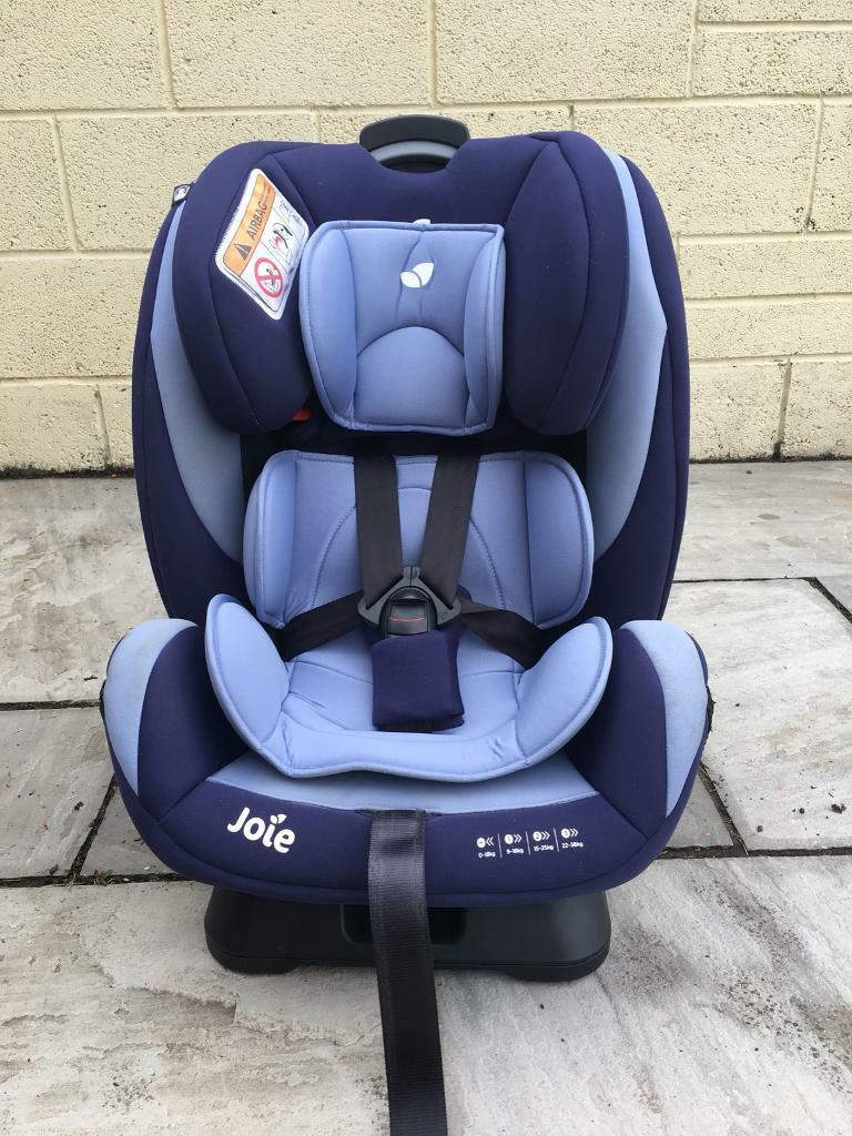 Joie Every Stage Group 0-1-2-3 car seat blue | in Goole ...