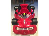 Babylo Red Car Walker Barely Used