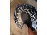 AGV stealth motorcycle helmet xs