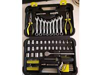 Challenge Xtreme 75 piece socket and wrench set
