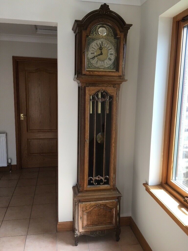 Old Grandfather Clock In Auchterarder Perth And Kinross