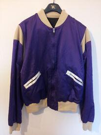 Maison Martin Margiela Silk & Cotton Bomber Jacket, size 50 (Large)