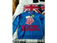 3 x Christmas jumpers size s/m brand new
