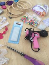 Assortment Of Craft Items For Sale
