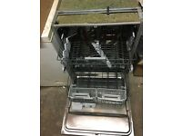Whirlpool 6th sense Power Clean integrated dishwasher for sale £40