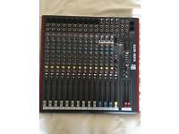 Allen and heath zed 16fx mixing desk