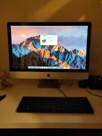 """iMac 27"""" mid 2010 i7 16gb ram"""