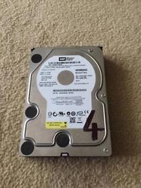 500GB western digital hard drive SATA