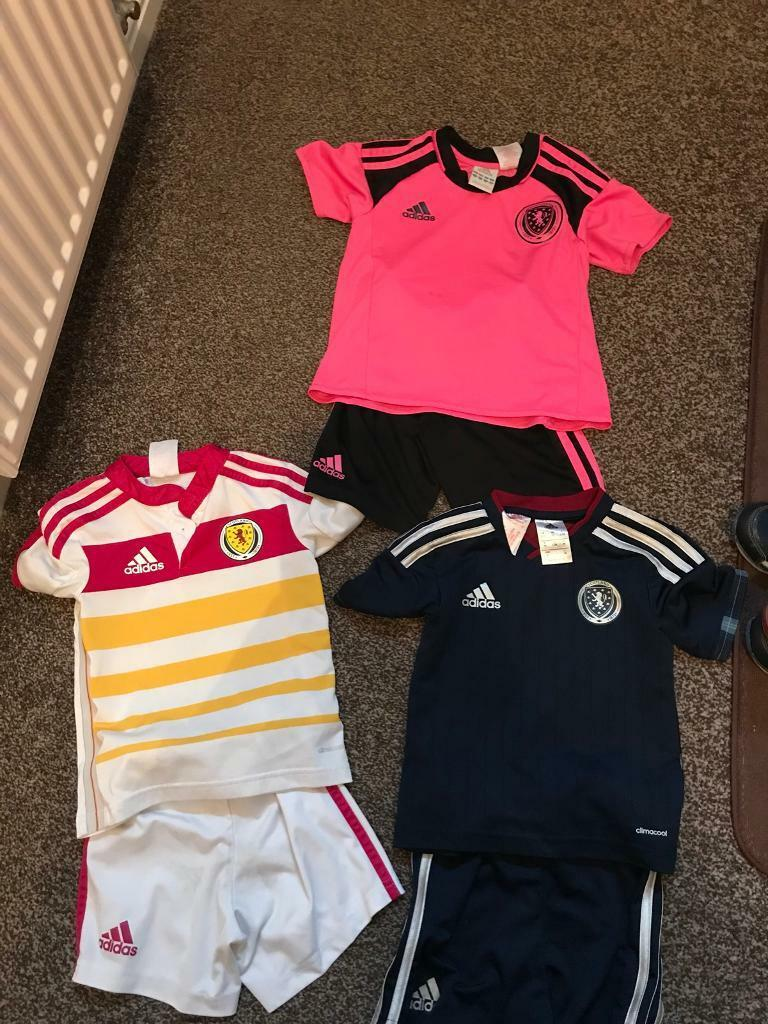 Scotland football strips age 2-3