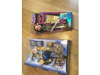 2 dolls -bratz and 'ever after high'