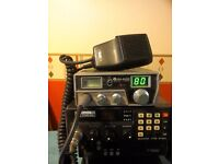 Midlands 80 channel CB radio with Mag Mount aerial
