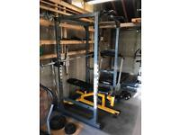Free Weight Home Gym