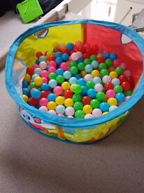 BALL PIT & OVER 100 BALLS!