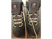 karrimor mens hot rock walking boots size 10