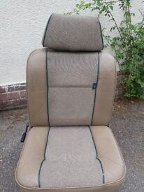 A set of Rover Mini British Open Classic seats, including interior door panels