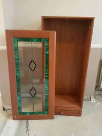 Drinks Cabinet With Stain Glass