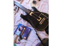 Guitar here live with guitar PS4