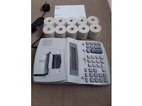 Texas Instruments TI-5640 Desktop Printing Calculator AS NEW