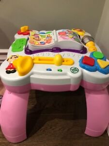 Pink Activity Table