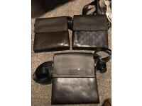 Versace Armani Gucci mont blonk man bags