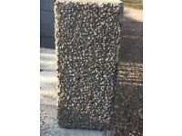 Due to time wasters, grab yourself a bargain, new 330 Synthetic granite blocks and 9 pillar caps