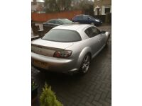 Mazda Rx8 231 6speed with sat nav