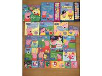 Peppa pig books bundle