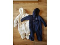 2x snowsuits, 6-9month, 6£ each - 10£ for both