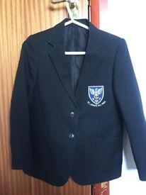 St John's RC high school girls junior blazer, cardigan, tie and full PE kit