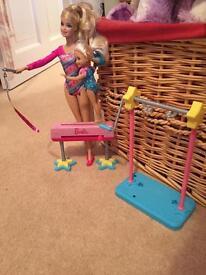 Barbie gym