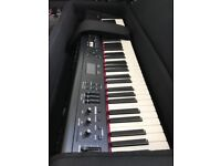 Roland RD 300nx electric piano - barely used 2 years old - comes with case and accessories