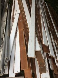 FREE reclaimed timber cladding Interior and Exterior suit shed