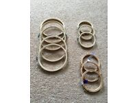 """BRAND NEW embroidery hoops X 11 (4"""" & 6"""")"""