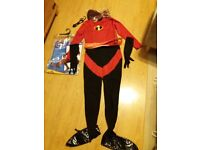 Official Disney Mrs Incredible costume women's size large.