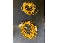 110v transformer extension cables